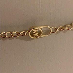 Michael Kors Accessories - Michael Kors gold belt
